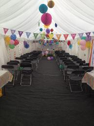 affordable garden size marquees