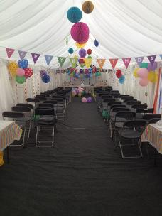 amazing party marquee on canvey