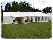 small marquee hire for wedding in hornchurch, essex